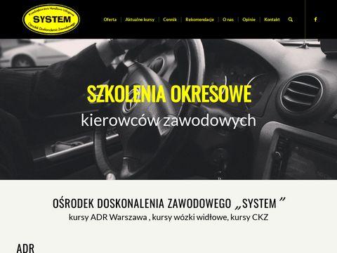 P.H.U System kursy