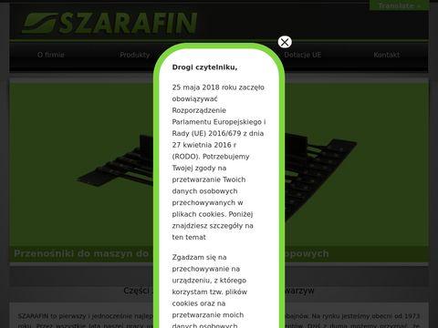 Szarafin - części do maszyn rolniczych