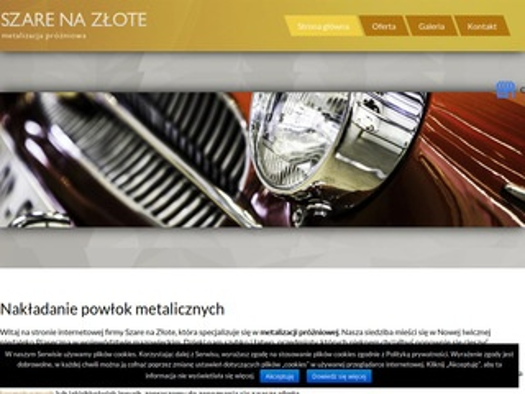 Szarenazlote.pl regeneracja odblasków Piaseczno