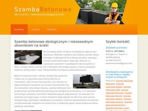 Szambabetonowex.pl
