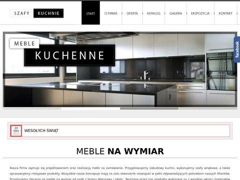 Szafy-kuchnie.waw.pl meble kuchenne na wymiar