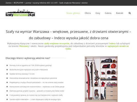 Szafywarszawa24.pl na wymiar