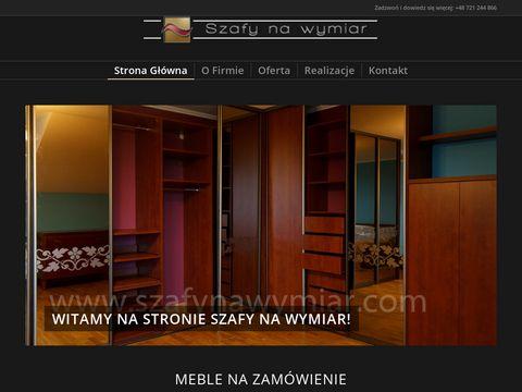 Szafynawymiar.com - meble na zamówienie