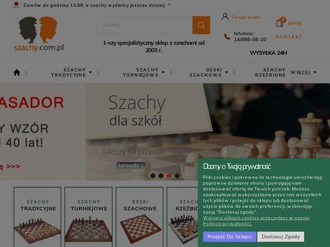 Szachy.com.pl - sklep internetowy