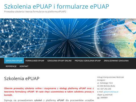 Szkoleniaiformularzeepuap.pl