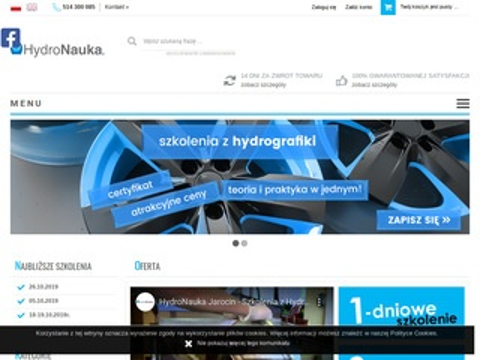 Szkolenia-hydrografika.pl - kurs z hydrografiki