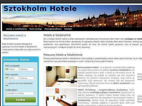 Sztokholm - hotele i noclegi