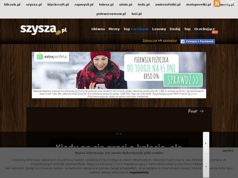 Szysza.pl śmieszne zdjęcia w sieci
