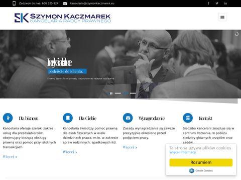 Szymonkaczmarek.eu radca prawny