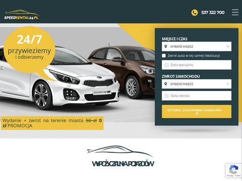 Speedrental24.pl auto wynajem Wrocław