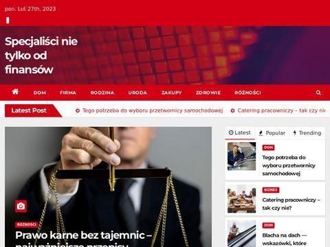 Specjaliscifinansowi.pl - kredyty dla firm
