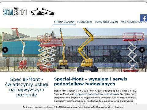 Special-Mont podnośniki elektryczne Legnica