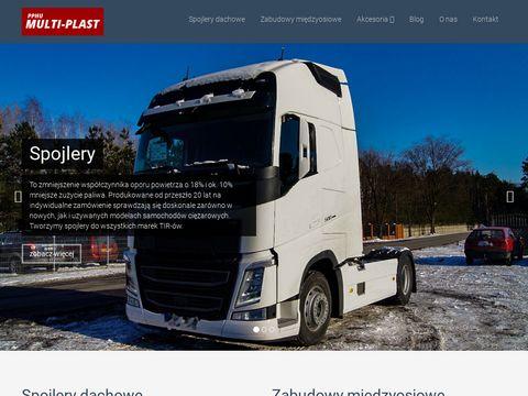 Multi-Plast orurowanie do samochodów ciężarowych