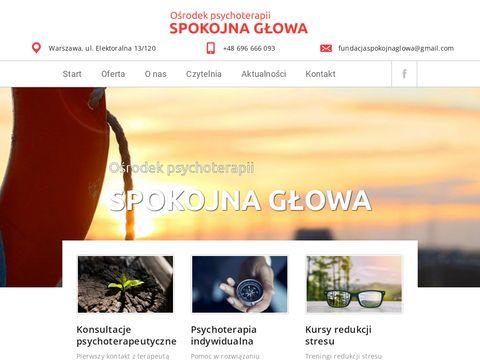 Spokojnaglowa.org.pl warsztaty mindfulness