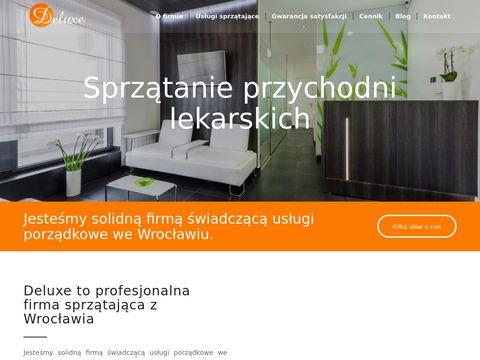 Sprzataniedeluxe.pl uslugi porządkowe we Wroclawiu