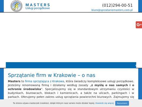 Masters odśnieżanie dachów Kraków