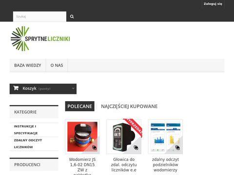 Sprytneliczniki.pl - Sprytne liczniki prądu