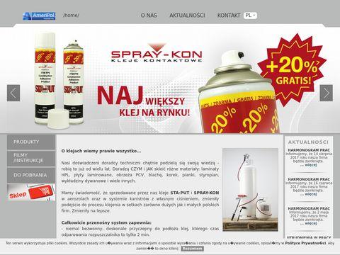 Spraykon.eu - kleje kontaktowe