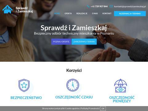 Sprawdzizamieszkaj.pl weryfikacja mieszkania