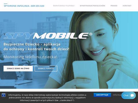 Spydrone24.pl podsłuch telefonu z Androidem