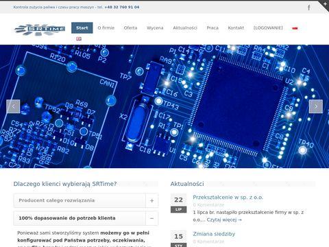 Srtime.pl najlepsza kontrola maszyn budowlanych