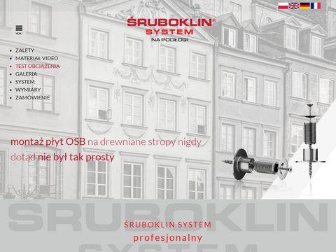 Sruboklin.eu montaż płyt osb