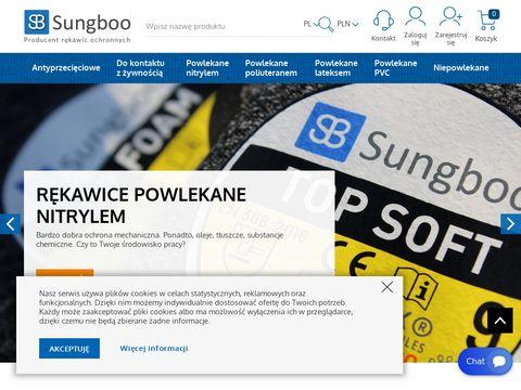 Sungboo.pl producent rękawic ochronnych