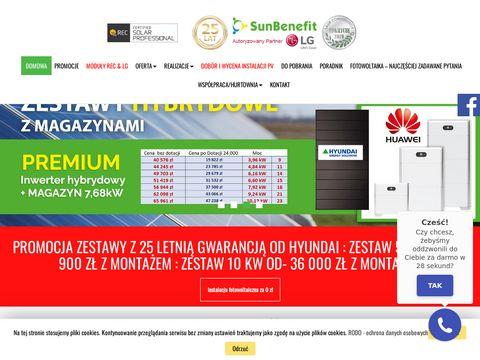 Sunbenefit.pl panele fotowoltaiczne Bielsko-Biała