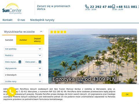 SunCenter biuro podróży Warszawa