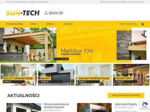 Sun-tech.pl - pergole tarasowe