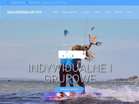 Surftofly.com - kursy kitesurfingu