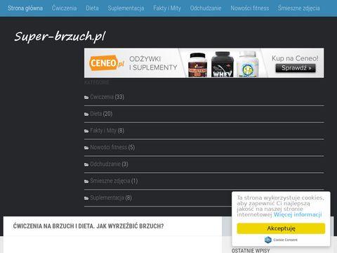 Super-brzuch.pl Ćwiczenia na brzuch