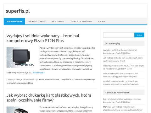 Superfis.pl - blog super urządzeń fiskalnych