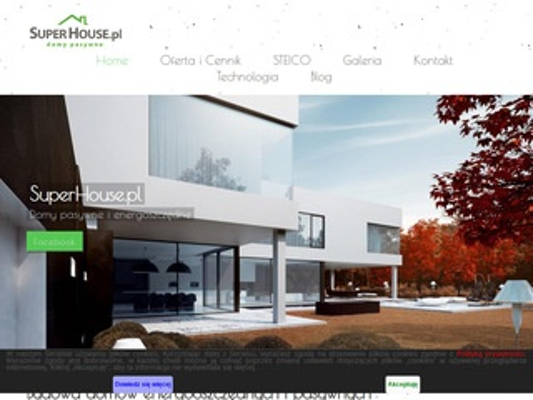 Superhouse.pl domy pasywne