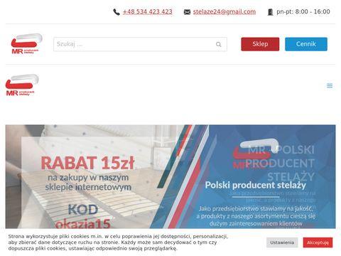 Stelaze24.com.pl producent akcesoria do łóżek