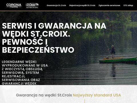 Stcserwis.pl wędki st. Croix