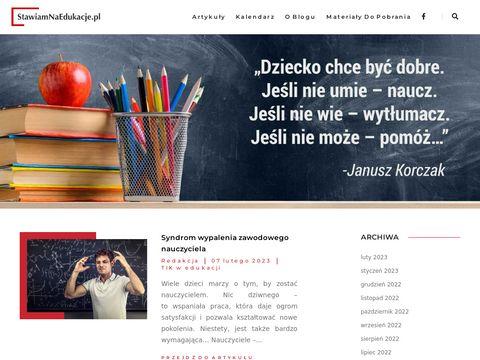 Stawiamnaedukacje.pl porady dla nauczycieli