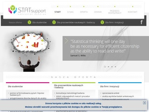 STATsupport - usługi i opracowania statystyczne