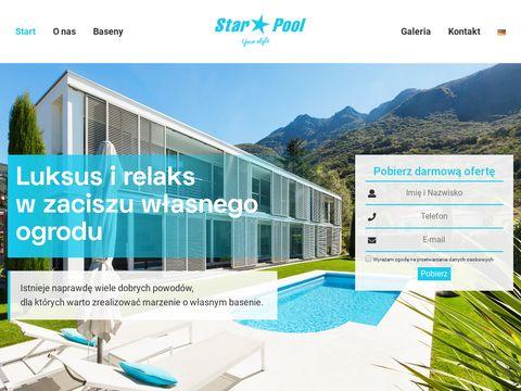 Baseny ogrodowe - cena budowy