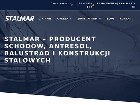 Stalmar.net schody konstrukcje stalowe