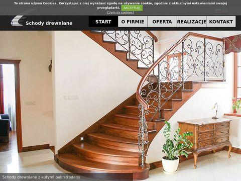 Stajder.com drewniane schody Kraków