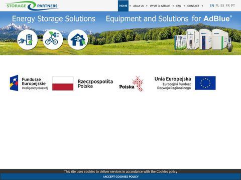 Storage-partners.com kontener na AdBlue
