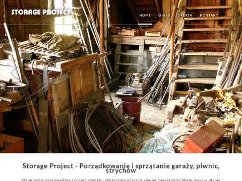 Storage Project - wywóz, opróżnianie, czyszczenie