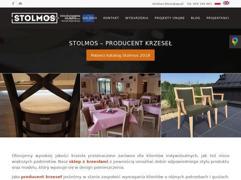 Stolmos.pl krzesła barowe
