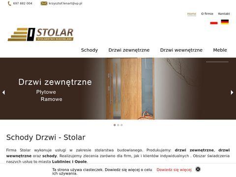 Stolarlenart.pl schody, drzwi - Lubliniec, Olesno