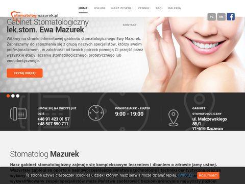 Stomatolog Szczecin Ewa Mazurek