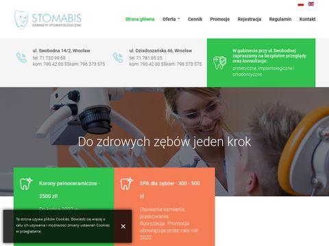Gabinet stomatologiczny z Wrocławia i jego dentyści