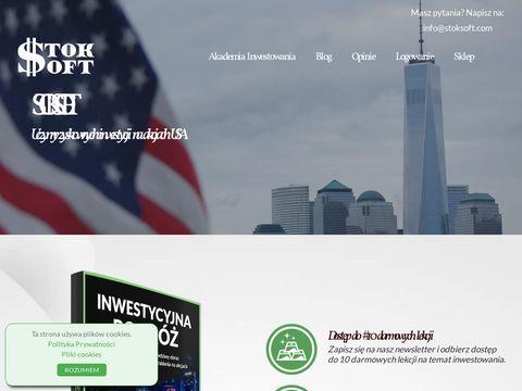 Stoksoft.com - strategie inwestycyjne