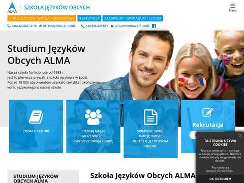 ALMA Studium Języków Obcych