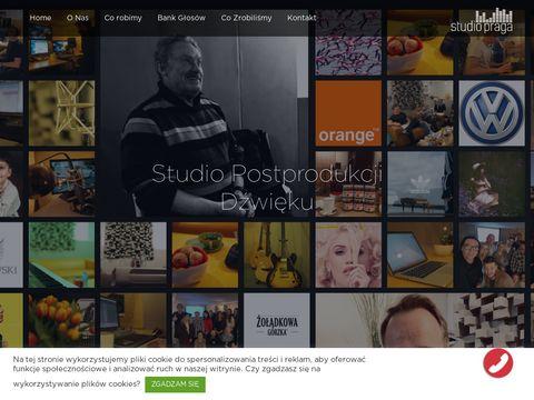 Studiopraga.pl nagrania lektorskie